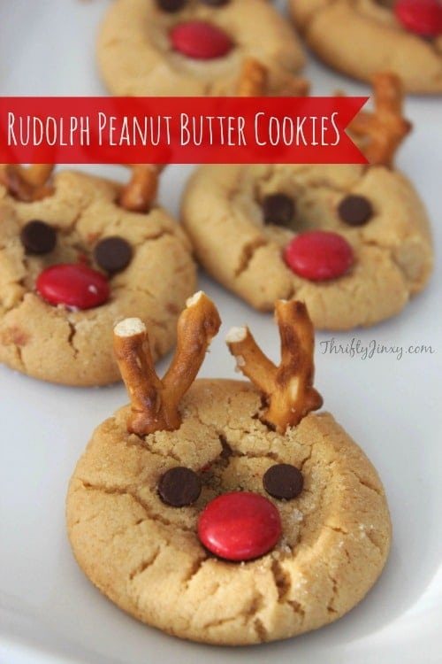 Rudolph Peanut Butter Cookie Recipe