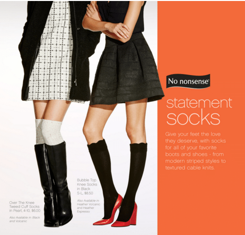 Stuff Those Stockings with No Nonsense Boot Socks + Reader Giveaway