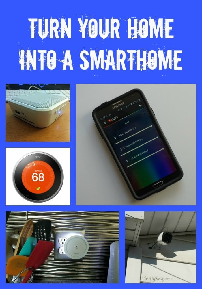 Turn Your Home Into a Smarthome #VZWBuzz
