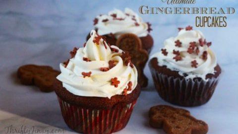 Ultimate Gingerbread Cupcakes