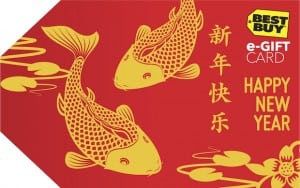 Celebrate Lunar New Year with Gift Cards from Best Buy