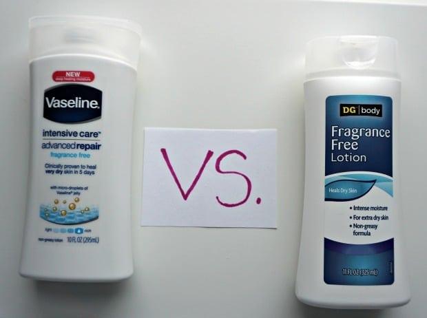 DG Body Fragrance Free Lotion