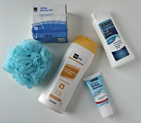 DG Body Products Dollar General vs. National Brand