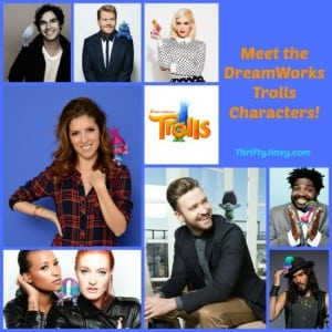 DreamWorks Animation's TROLLS Characters Revealed: Kendrick, Timberlake and More!