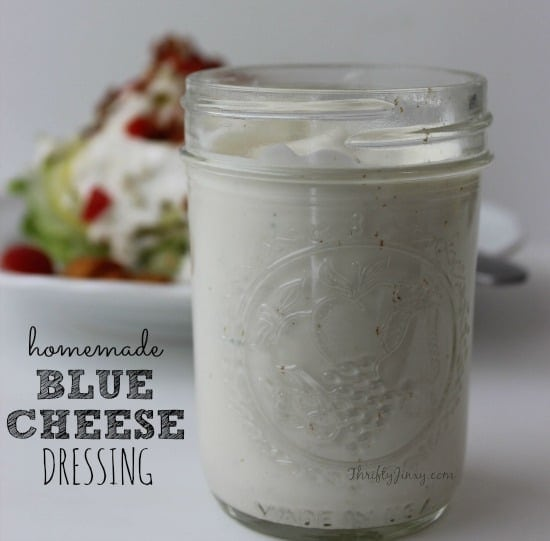 Easy Homemade Blue Cheese Dressing Recipe with Lightened Up Options