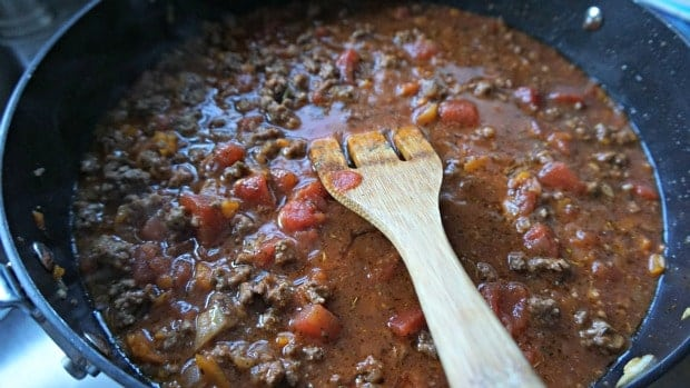 Easy Spaghetti Bake Recipe Sauce