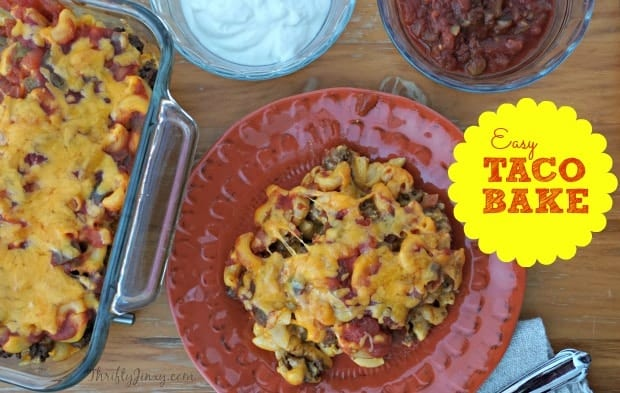 Easy Taco Bake Recipe to Make Every Day Delicious!