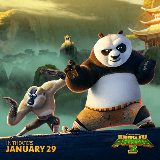 Kung Fu Panda 3 Printables – See It In Theaters January 29th!