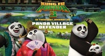 Panda Village Defender