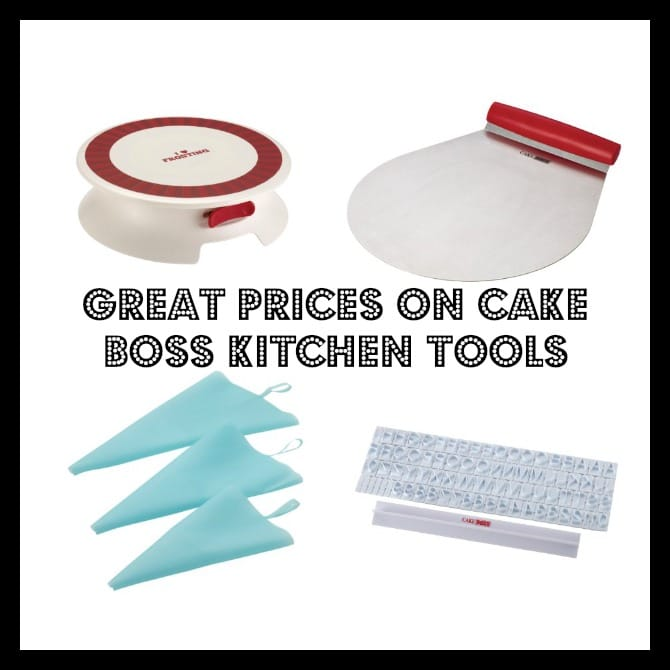 Cake Boss Kitchen Tools