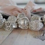 Silver Spoon Rings – The Frosted Gardener