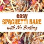 Spaghetti Bake Recipe