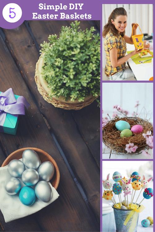 5 Simple DIY Easter Baskets