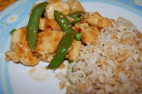 My Healthy Style General Tso's Chicken Recipe at Three Ps in a Pod