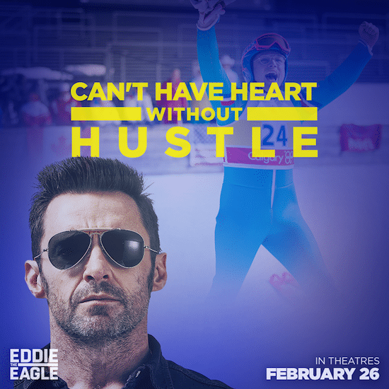 Eddie The Eagle Motivational Quote