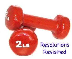 Resolutions Revisited: Time to Call in Backup! + a Giveaway
