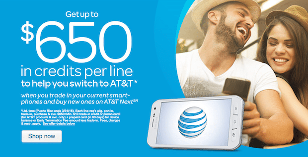 AT&T Switch and Save Offer