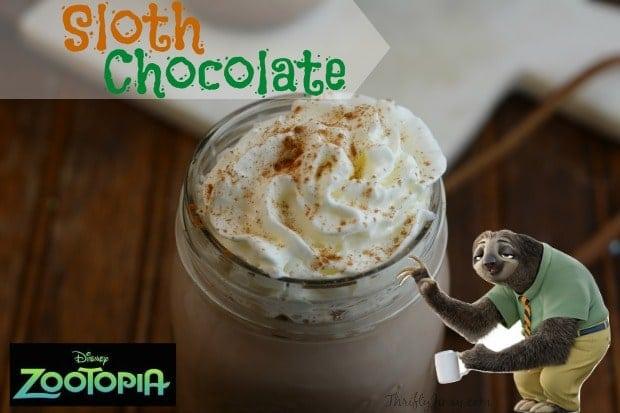Sloth Chocolate Recipe