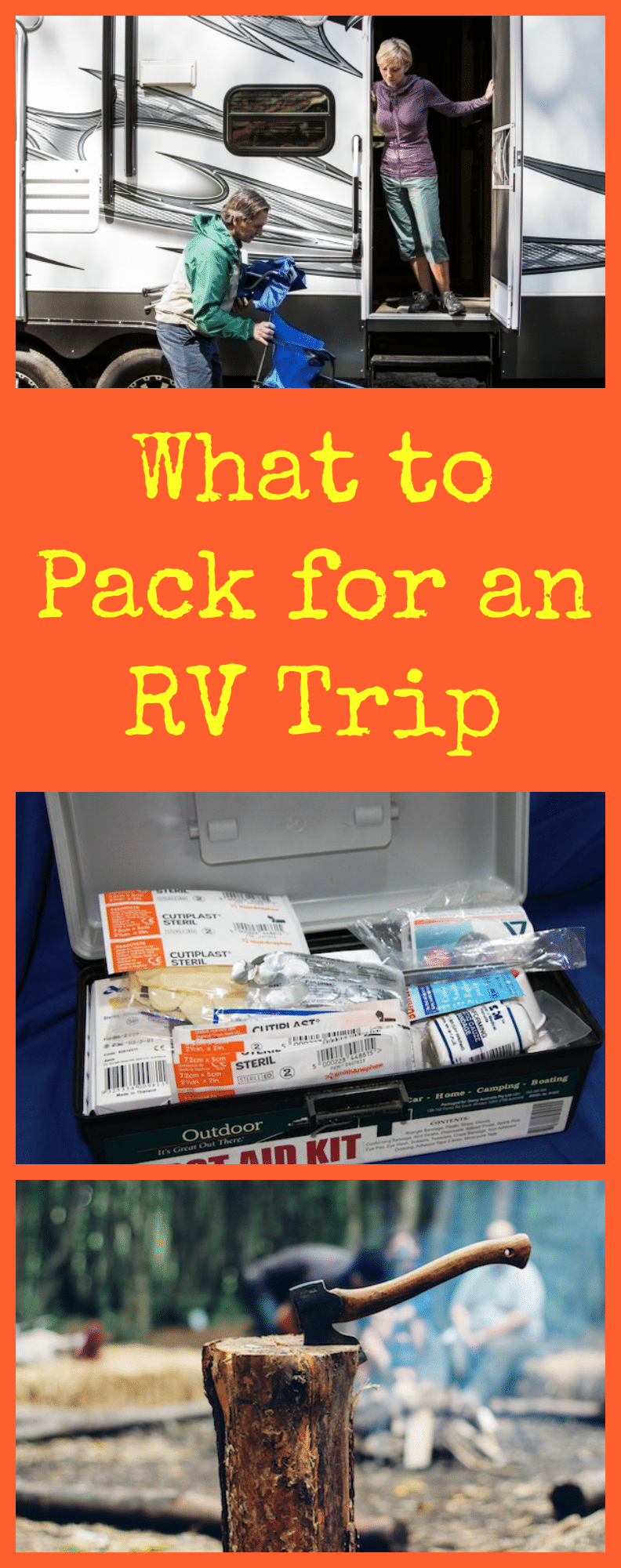 What to Pack for an RV Trip