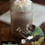 Zootopia Sloth Chocolate Recipe
