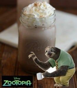 Zootopia Sloth Chocolate Recipe + $200 Fandango Reader Giveaway