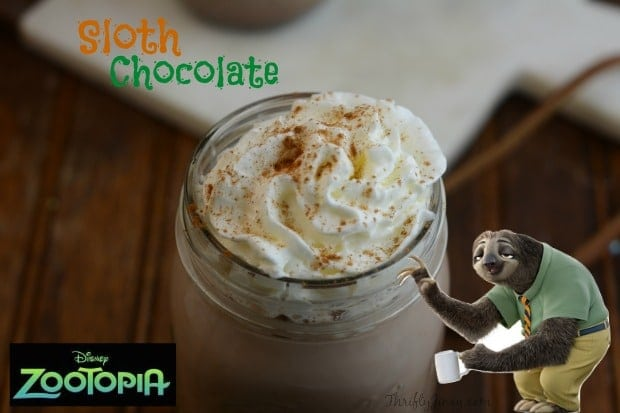 Zootopia Sloth Chocolate Recipe YUM!