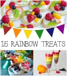 15 Rainbow Treats Recipes