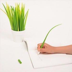 Grass Blades or Ballpoint Pens?