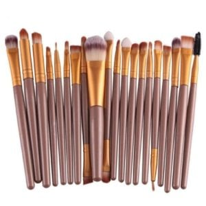 Stay Stylish On-The-Go with this 20 Piece Makeup Brush Set