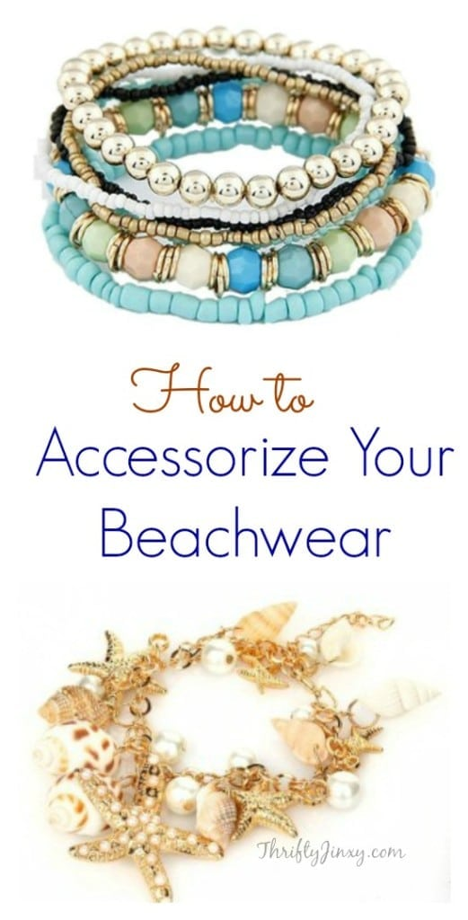 How to Accessorize Your Beachwear with boho bracelets and more for the perfect beach look!