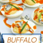 Buffalo Deviled Eggs