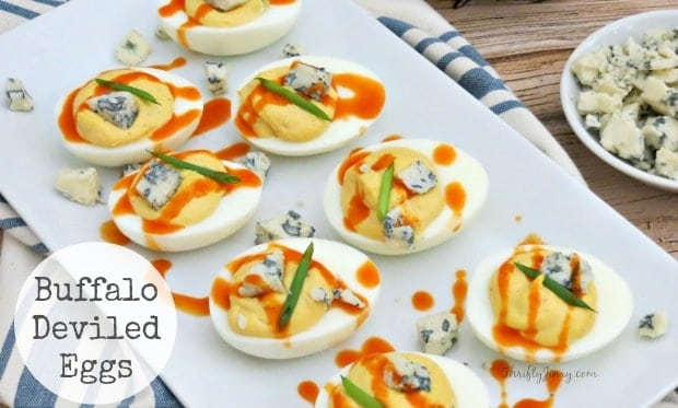 Buffalo Deviled Eggs Recipe Perfect for Parties
