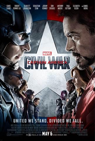 Marvel's CAPTAIN AMERICA CIVIL WAR Poster