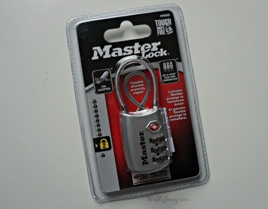 Master Lock TSA Lock