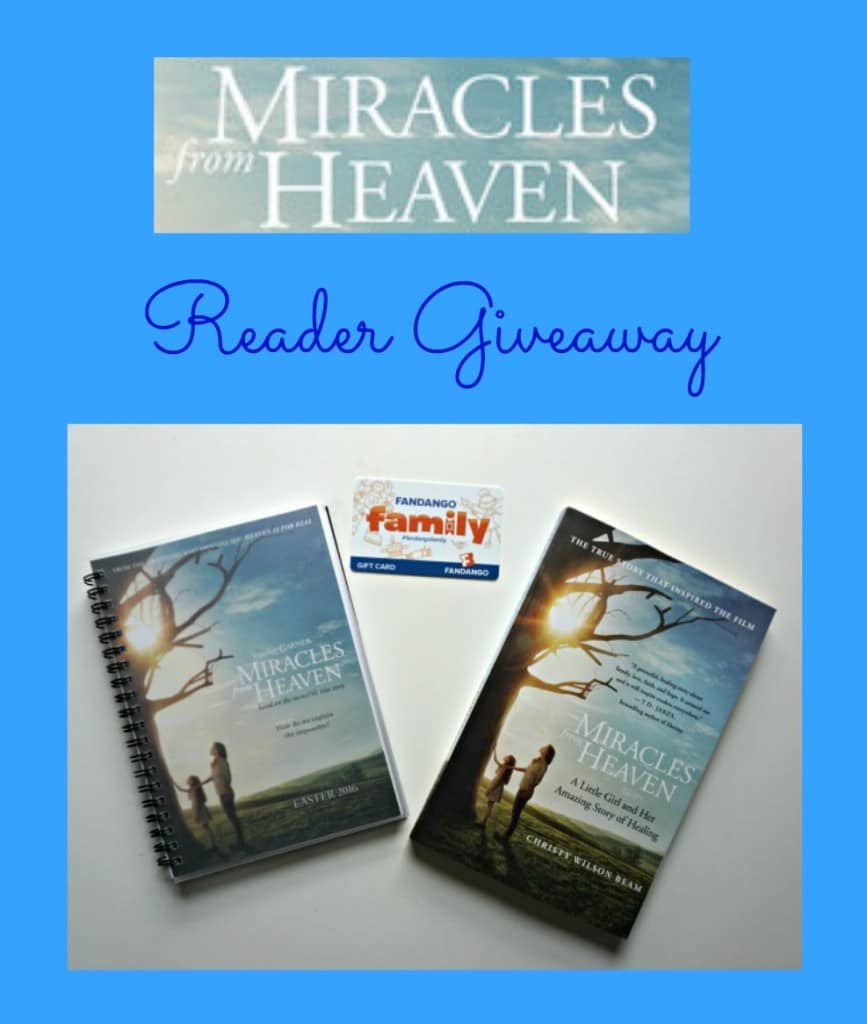 Miracles from Heaven Reader Giveaway