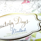 Painterly Days Watercoloring Books – Move Over Adult Coloring Books!