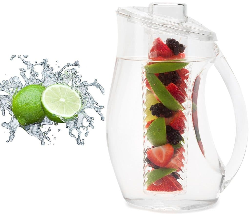 Detox Lime Infused Water