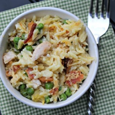 Cheesy Chicken and Orzo Casserole fina #11