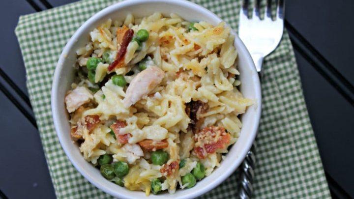 Cheesy Chicken and Orzo Casserole fina #11