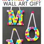 DIY MOTHERS DAY WALL ART