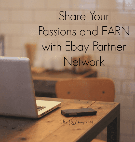 Earn with Ebay Partner Network