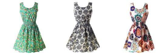 PanDaDa Floral Dresses