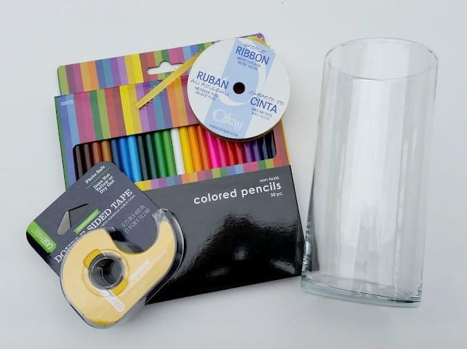 Homemade Teacher Appreciation Gift supplies