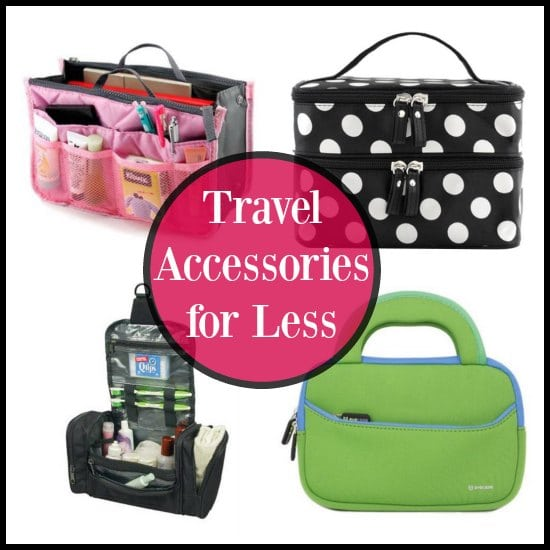 Thrifty Finds for Traveling Accessories