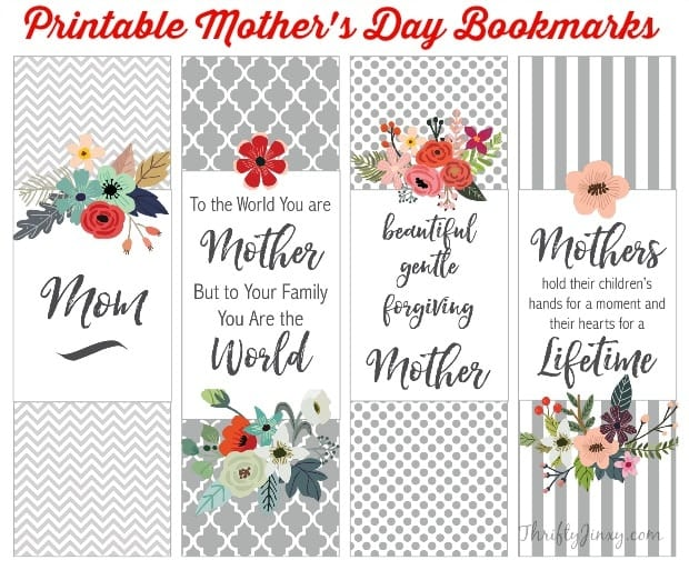 Influential image regarding mother's day bookmarks printable free
