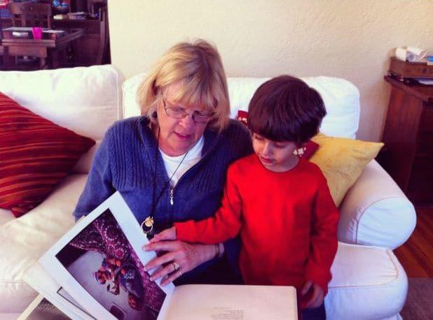 Reading-with-Grandma