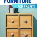flip furniture for profit