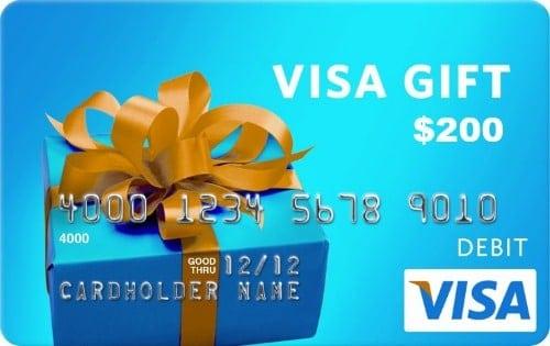 $200 VISA Gift Card