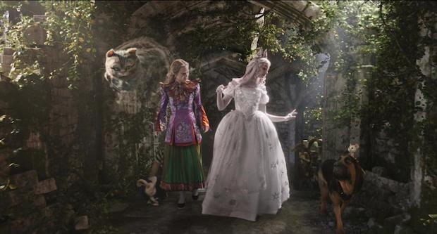 Alice Through The Looking Glass White Queen Friends