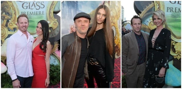 Celebrities Alice Through the Looking Glass Red Carpet Premiere